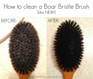 How to Clean a Boar Bristle Hair Brush