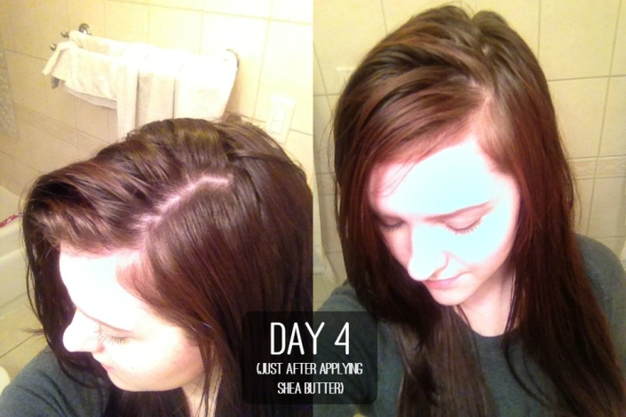 3 Month Update on The Ultimate Water Only Hair Washing Routine - No Poo - Day 4