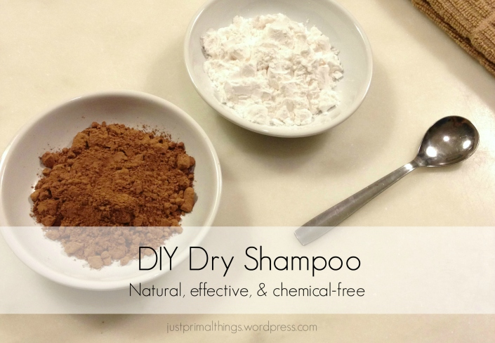 DIY Dry Shampoo | Natural, Effective, & Chemical Free